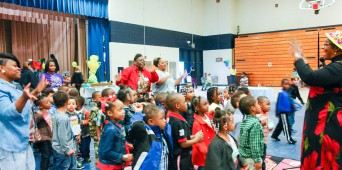 Children Celebrate Youth Fun Day at DTC