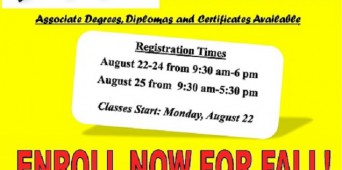 ENROLL NOW FOR FALL!