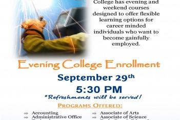 DTC Evening College Enrollment