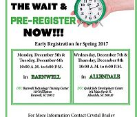 Avoid the Wait & Pre-Register Now!