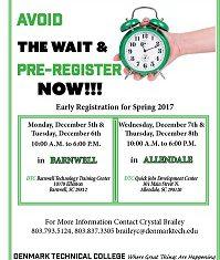 Avoid the Wait & Pre-Register Now!