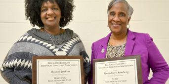 DTC Employees Honored at SCTEA Conference