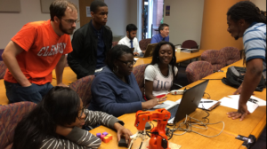 DTC Dual Enrollment High School Students Recently Visited Clemson University