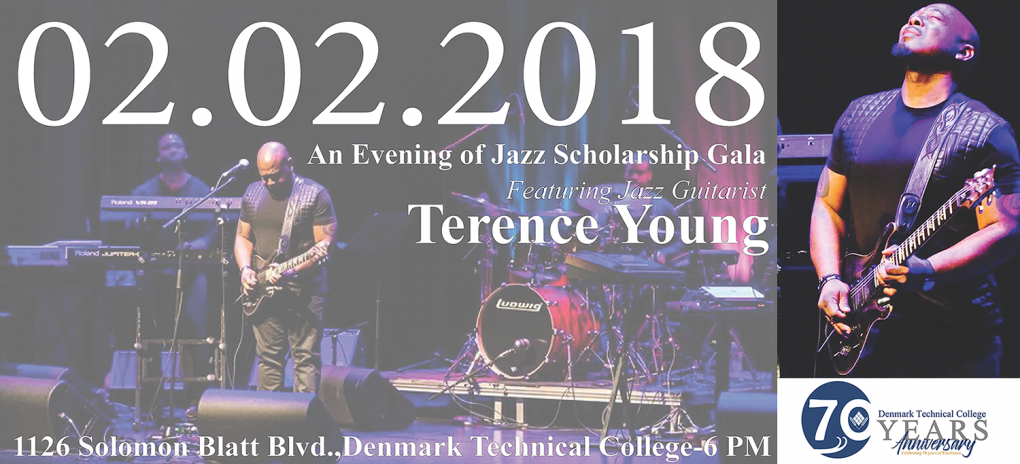 2018 Scholarship Gala featuring Jazz Guitarist Terence Young