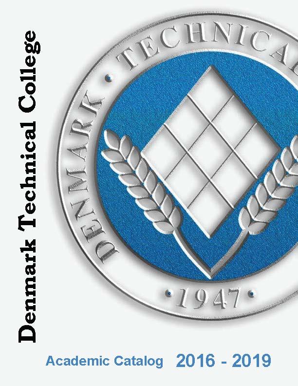 DTC 2015-2019 Academic Catalog Cover
