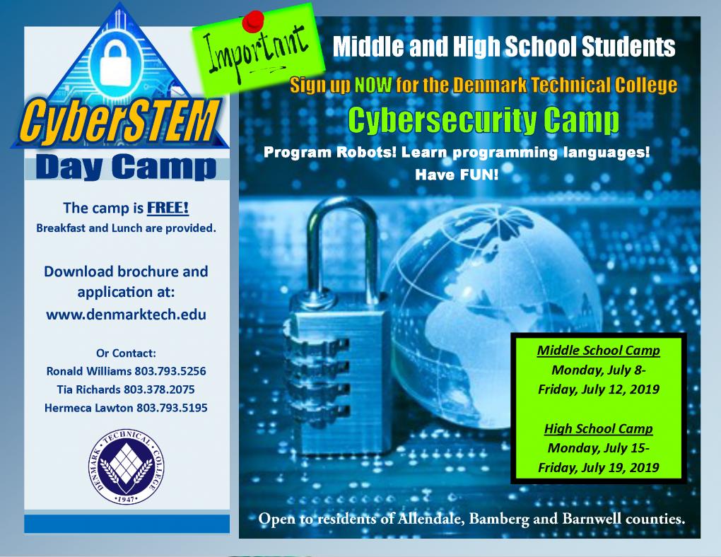 2019 cyberSTEM  Camp