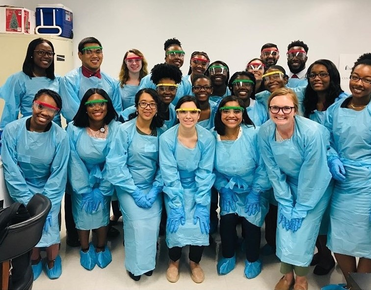Twenty-one students from across South Carolina were invited to participate in the South Carolina AHEC Summer Careers Academy at the Medical University of South Carolina, June 2 - 7, 2019.